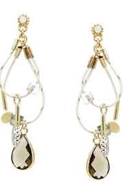 US Jewelry House Double Teardrop Earrings - Product Mini Image