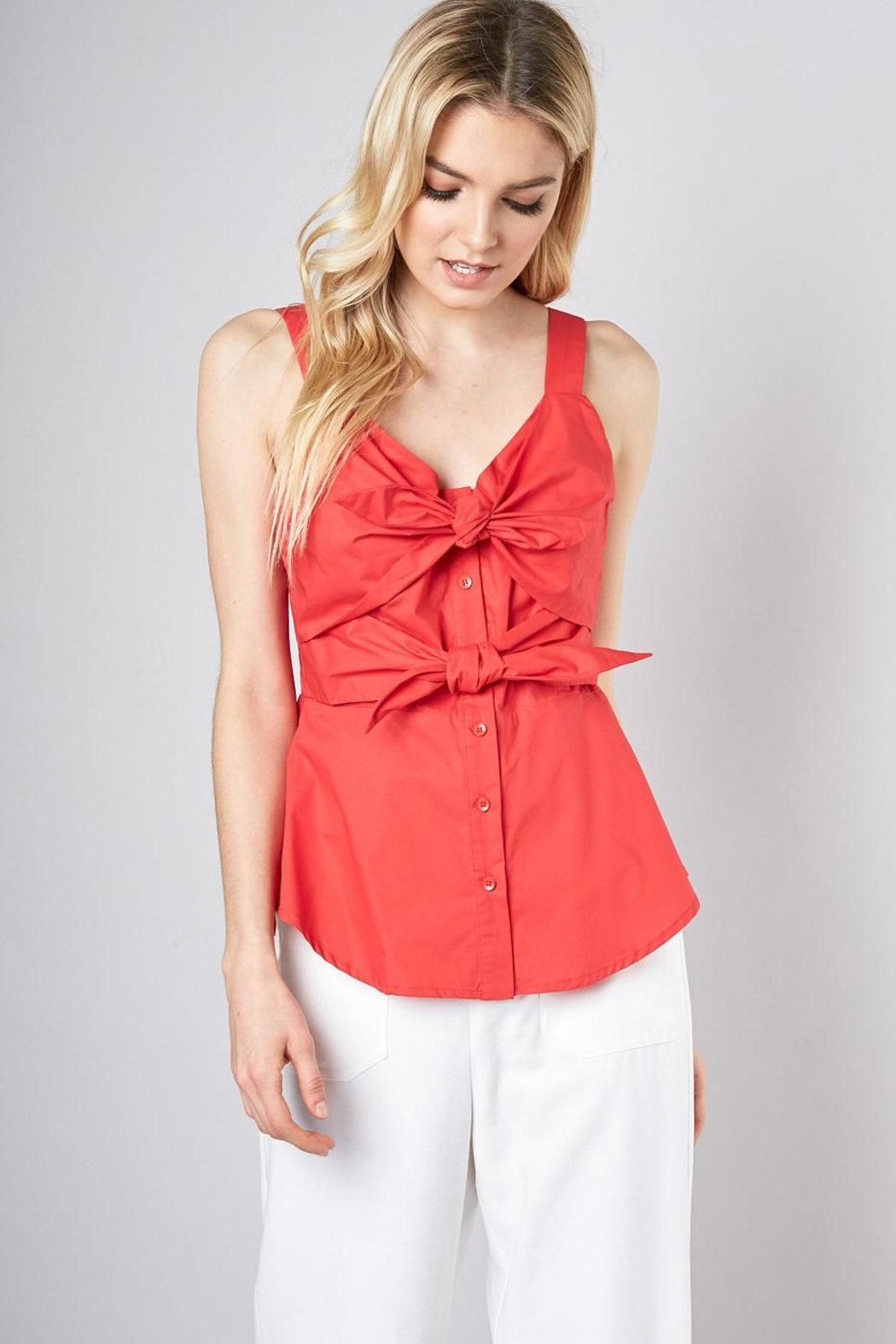 Do & Be Double Tie Blouse - Main Image