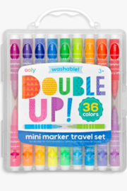 Ooly Double Up Mini Marker Travel Set - Front cropped