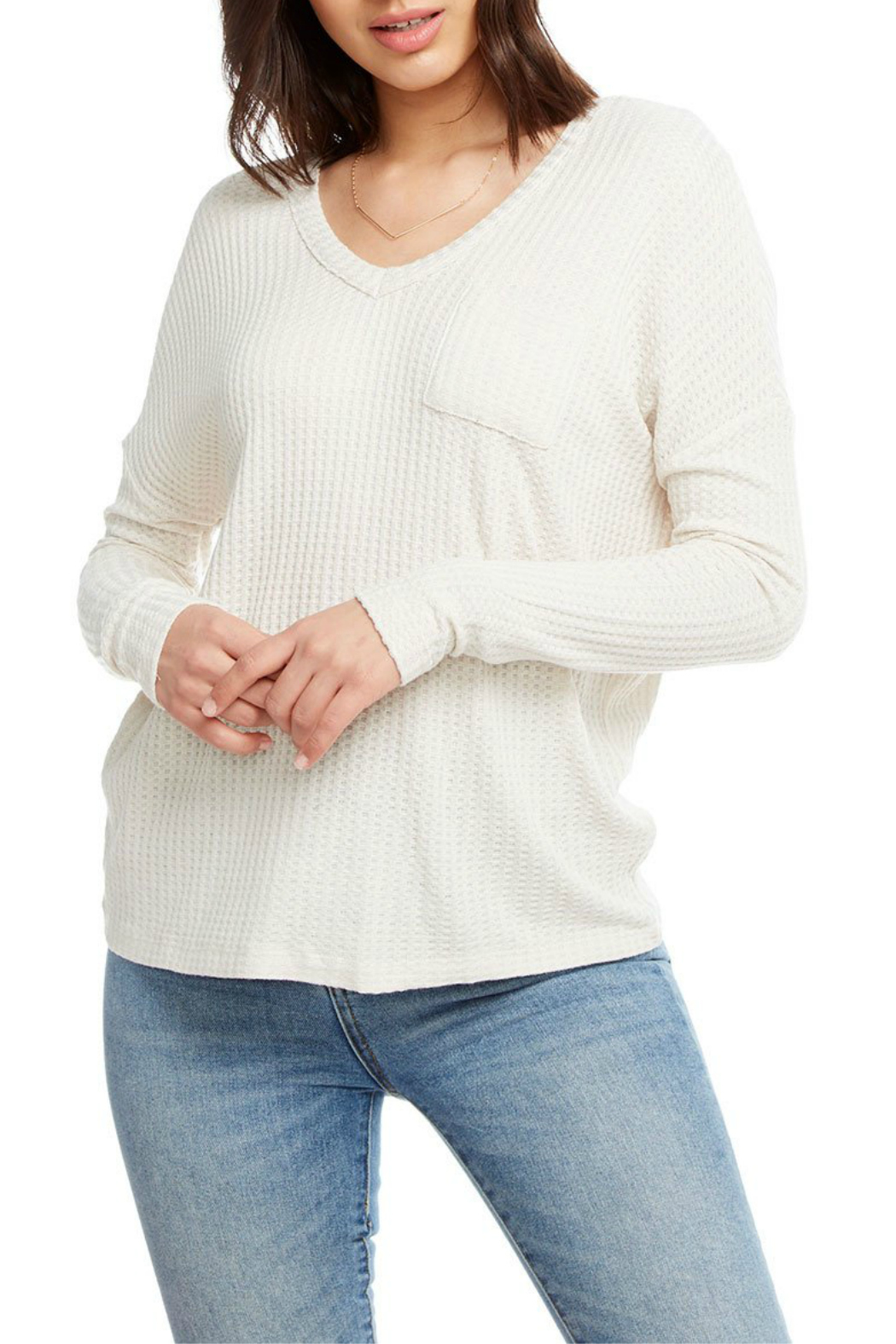 Chaser Double V Dolman Sleeve Thermal - Main Image