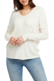 Chaser Double V Dolman Sleeve Thermal - Front cropped