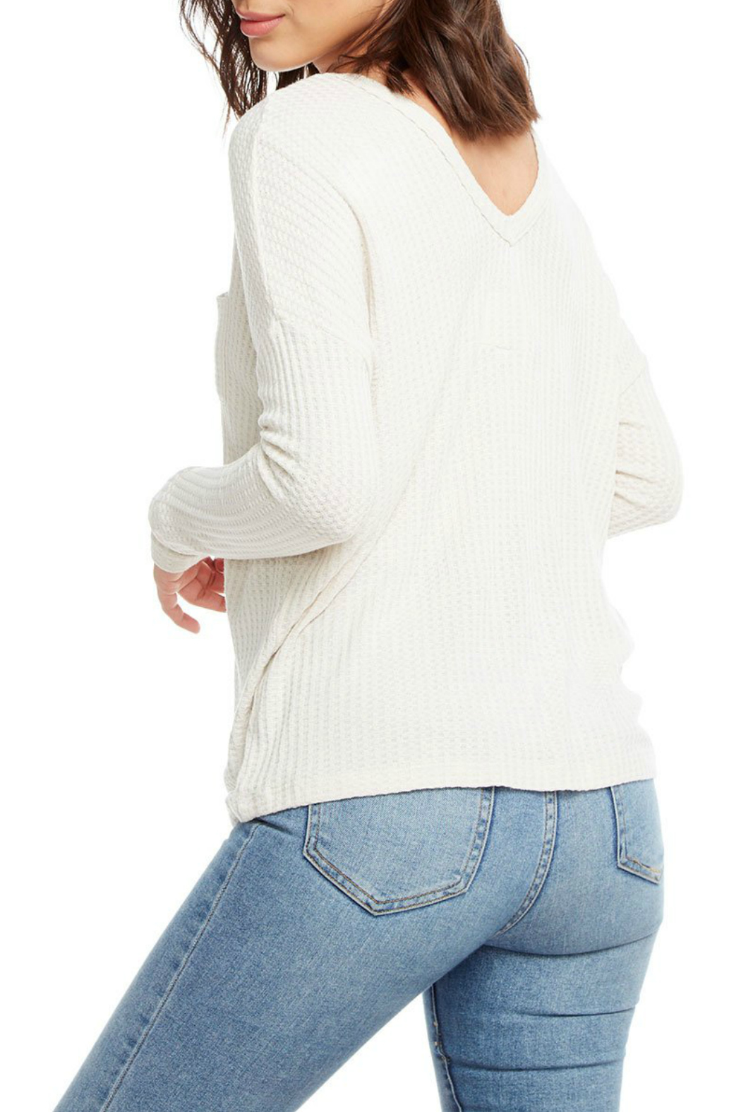 Chaser Double V Dolman Sleeve Thermal - Front Full Image