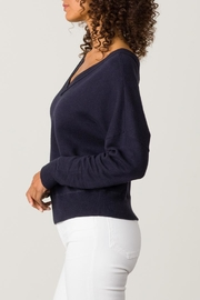Margaret O'Leary Double V-Neck Sweatshirt - Front full body