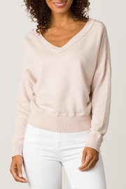 Margaret O'Leary Double V-Neck Sweatshirt - Front cropped