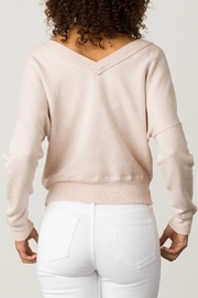 Margaret O'Leary Double V-Neck Sweatshirt - Side cropped