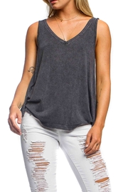 Anama Double V-Neck Tank - Front cropped