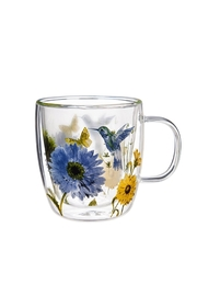 Evergreen Enterprises Double-Walled Glass Cup - Product Mini Image