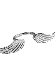 Malia Jewelry Double Wing Ring - Front cropped
