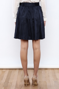 Double Zero Belted Suedette Skirt - Alternate List Image