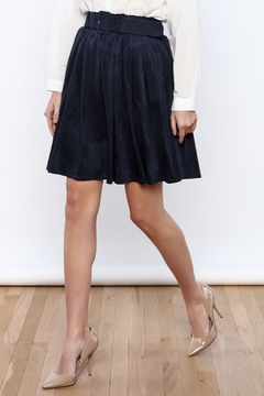 Double Zero Belted Suedette Skirt - Product List Image
