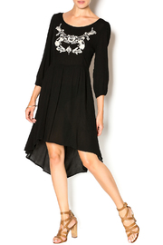 Double Zero Black Gauze Dress - Product Mini Image