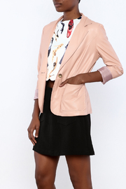 Double Zero Blush Vegan Jacket - Product Mini Image