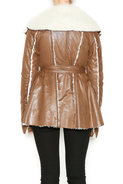 Double Zero Brown Fur Jacket - Alternate List Image
