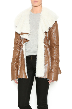 Double Zero Brown Fur Jacket - Product List Image