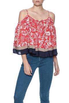 Double Zero Cold Shoulder Top - Product List Image