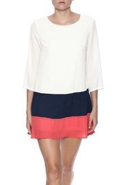 Double Zero Color Block Dress - Front cropped