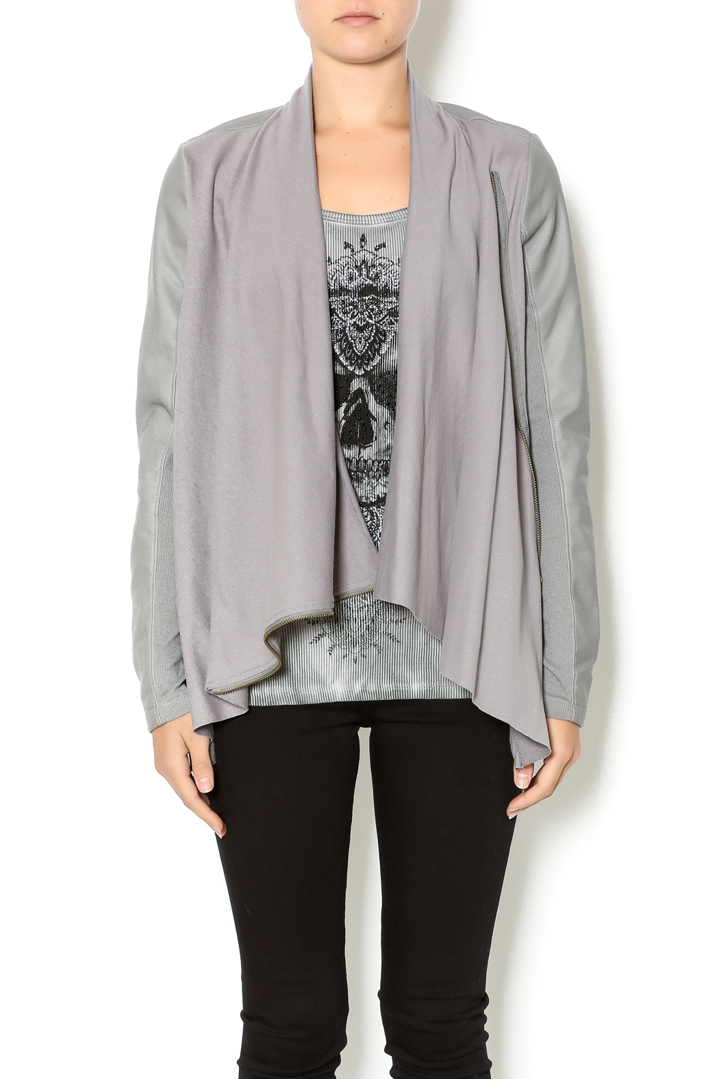 Double Zero Dove Grey Jacket - Main Image