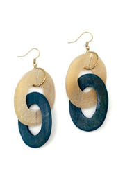 Anju Handcrafted Artisan Jewelry Double Zero Earring - Front cropped