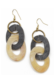 Anju Handcrafted Artisan Jewelry Double Zero Earring - Product Mini Image