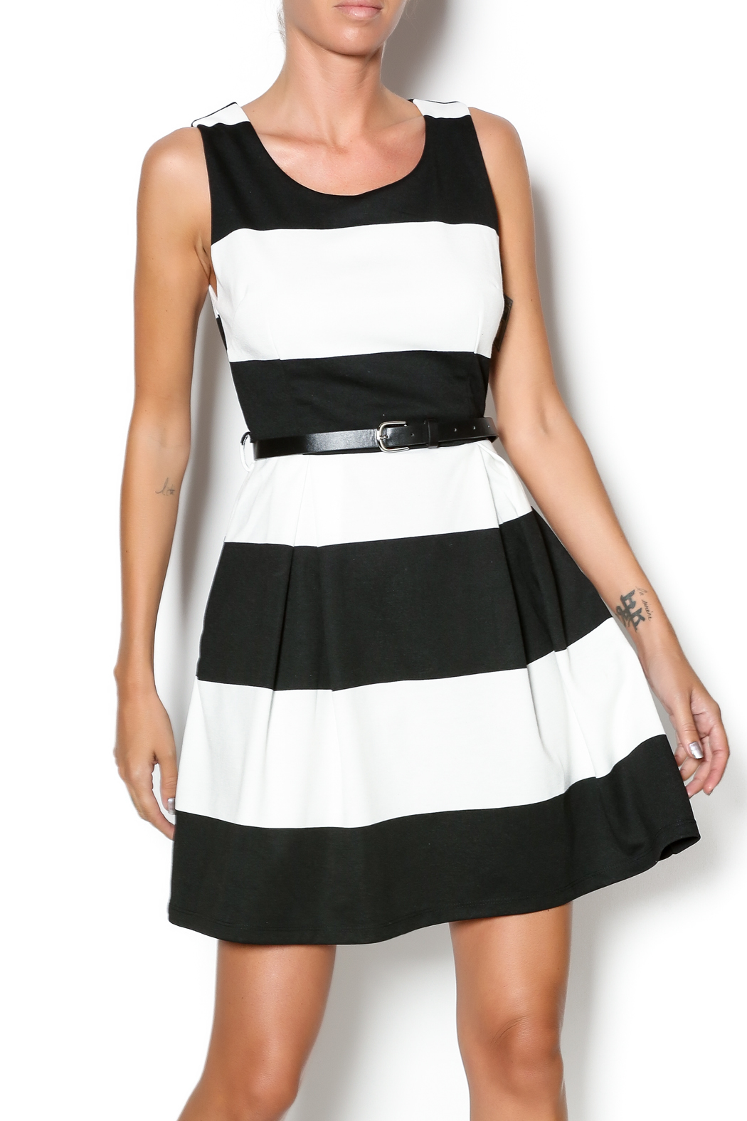 Double Zero Fit And Flare Dress - Main Image
