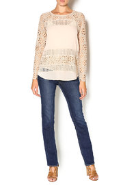 Double Zero Foundation Lace Blouse - Front full body