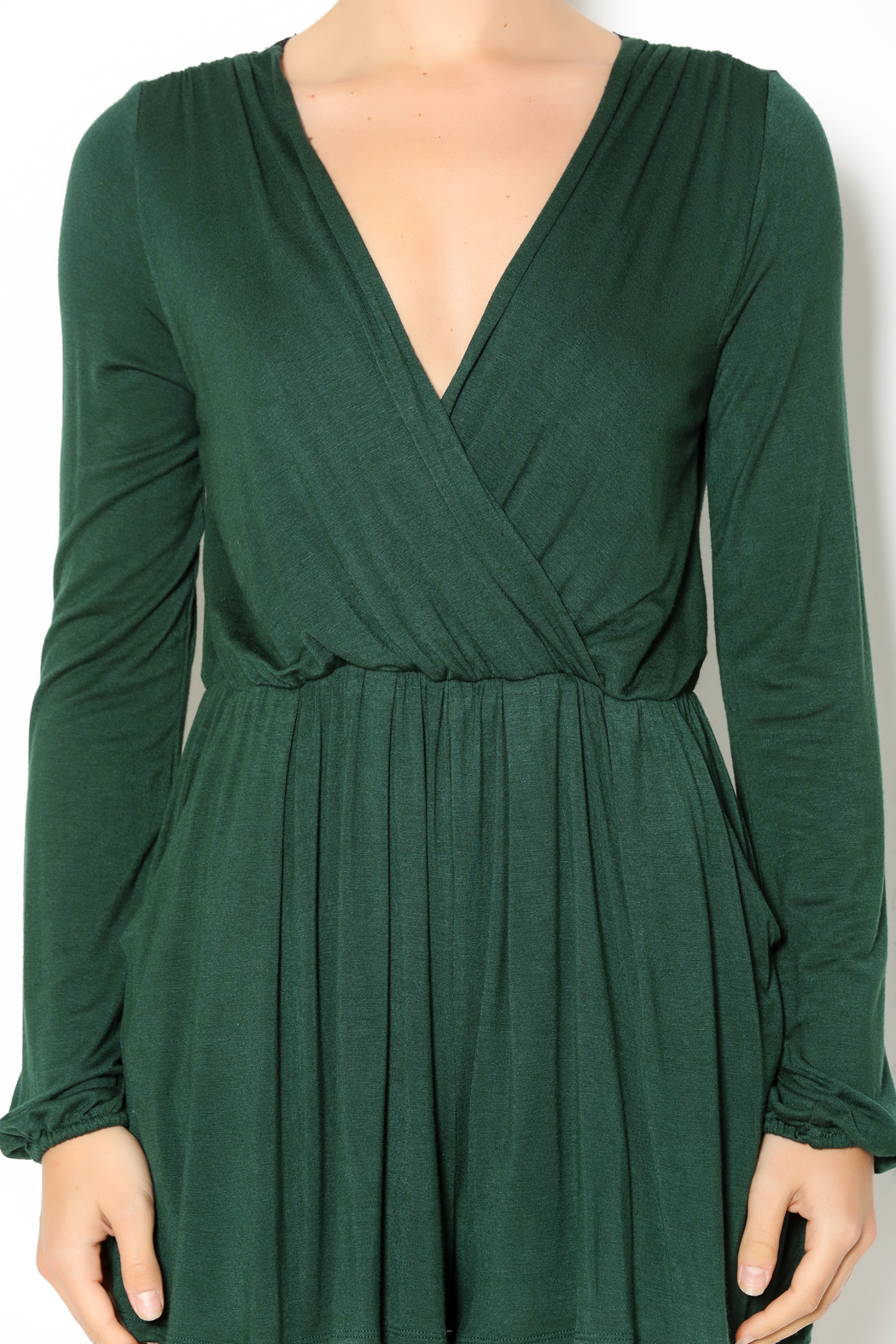 8f5f0b6576b5 Double Zero Hunter Green Romper from Naples by Petunias of Naples —  Shoptiques
