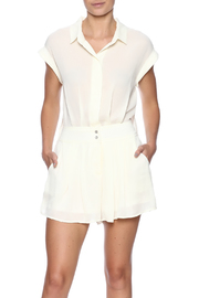 Double Zero Ivory Romper - Product Mini Image