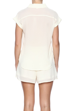 Double Zero Ivory Romper - Alternate List Image