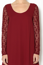 Double Zero Lace Burgundy Dress - Other