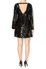 Double Zero Long Sleeve Sequin Dress - Side cropped