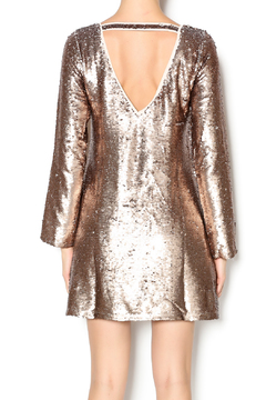 Double Zero Long Sleeve Sequin Dress - Alternate List Image