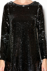 Double Zero Long Sleeve Sequin Dress - Other