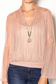 Double Zero Rose Quartz Blouse - Other