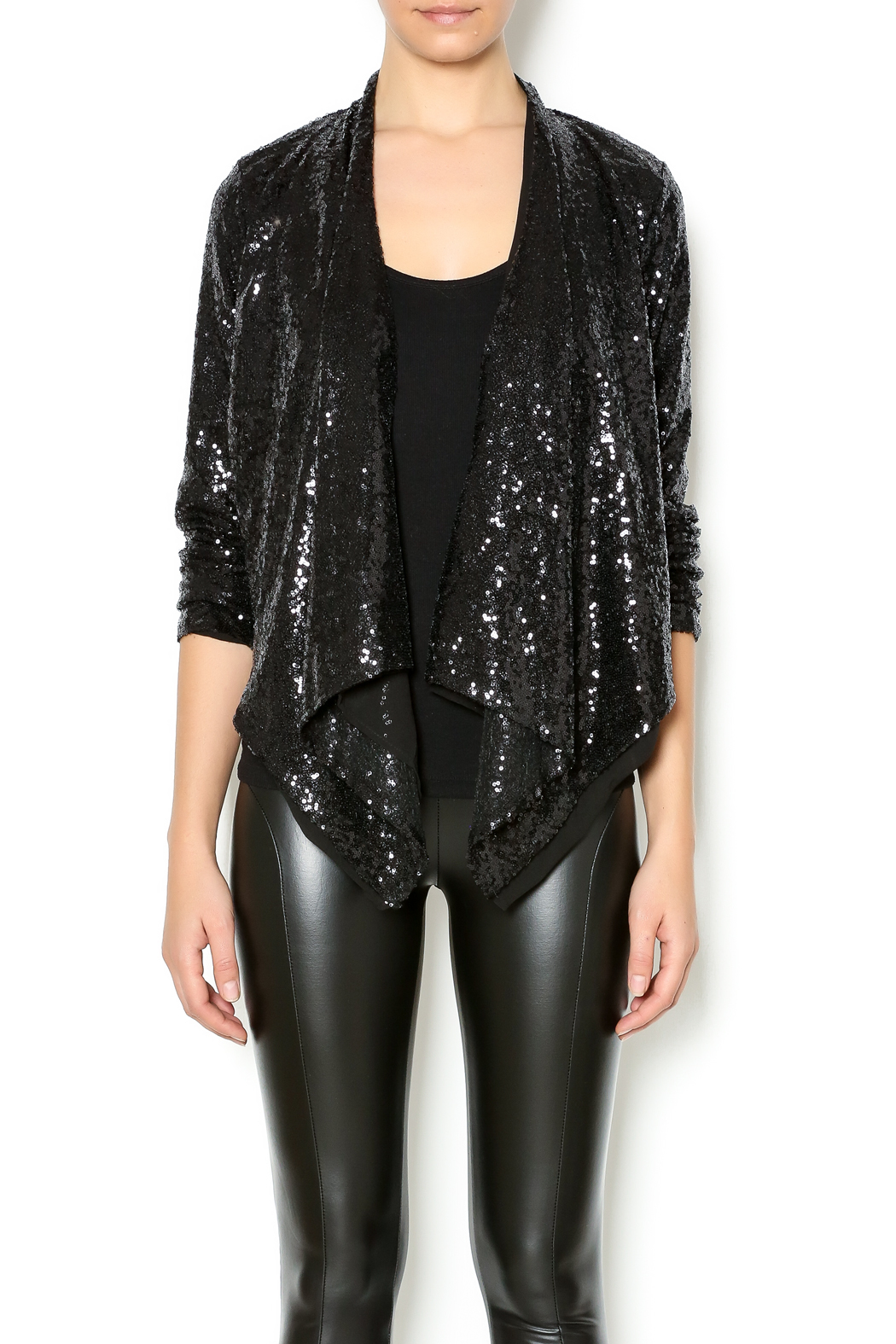 Double Zero Sequin Jacket From Alaska By Apricot Lane