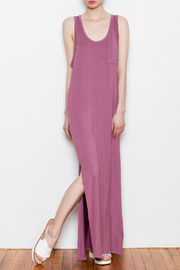 Double Zero Side Slit Maxi Dress - Product Mini Image