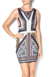 Double Zero Sleeveless Bodycon Dress - Product Mini Image