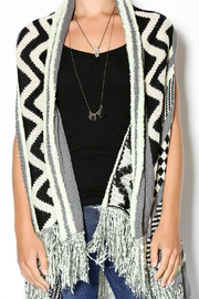 Double Zero Sleeveless Open Cardigan - Other