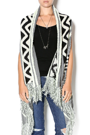 Double Zero Sleeveless Open Cardigan - Product Mini Image