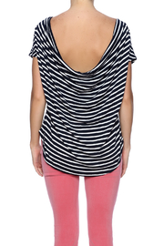 Double Zero Striped Tee - Back cropped