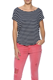 Double Zero Striped Tee - Front cropped