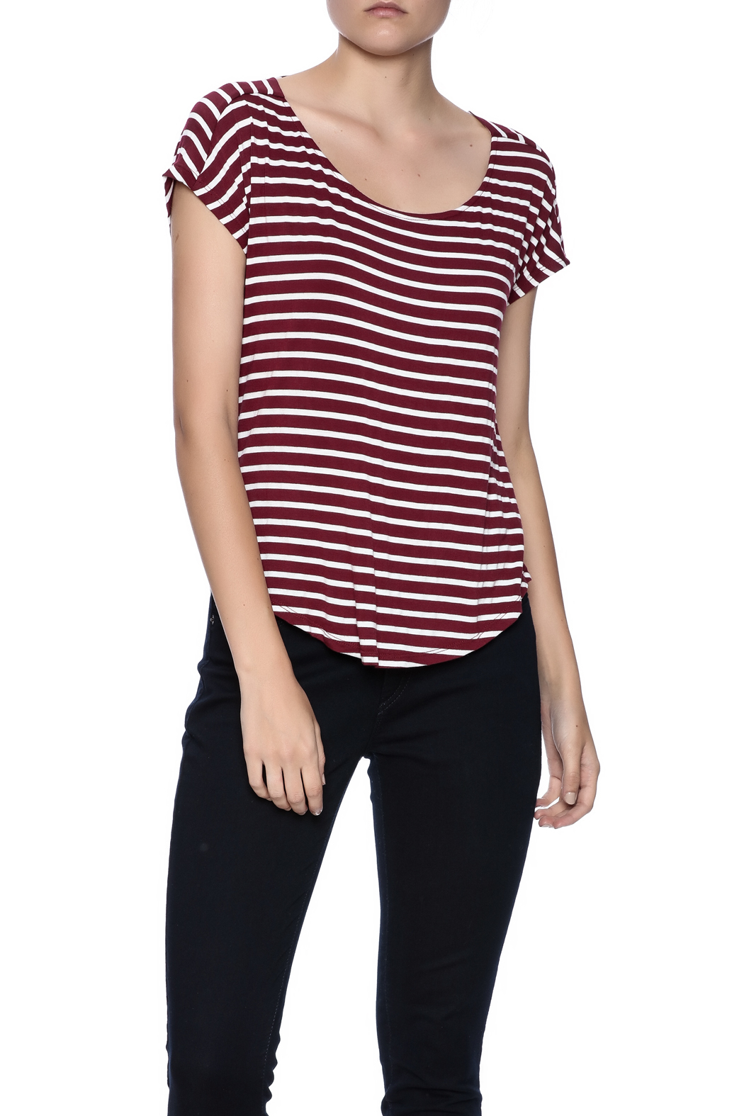 Double Zero Striped Tee - Main Image