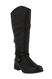 Spring Footwear Double Zipper Boot - Front cropped