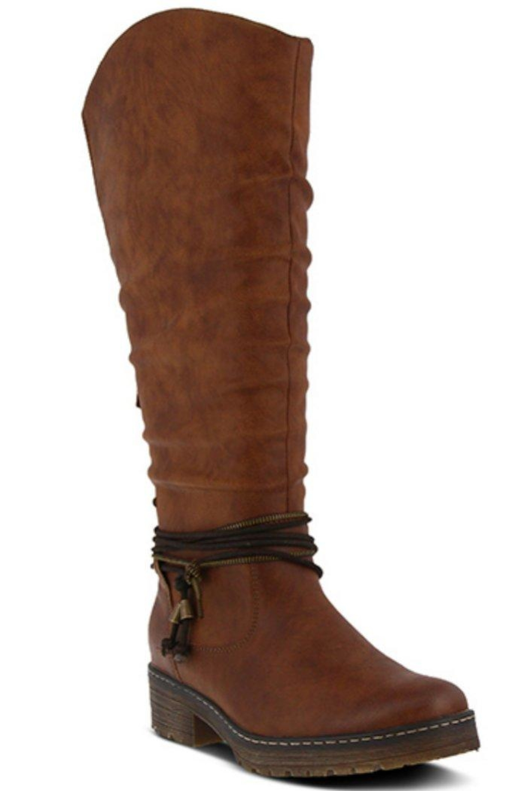 Spring Footwear Double Zipper Boot - Main Image