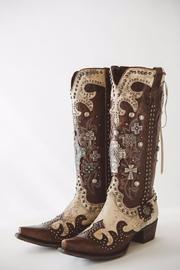 Double D Ranchwear Ammunition Cowgirl Boot - Product Mini Image