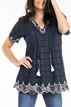 Double D Ranchwear Cotton Eyelet Tunic - Alternate List Image