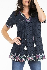 Double D Ranchwear Cotton Eyelet Tunic - Product Mini Image