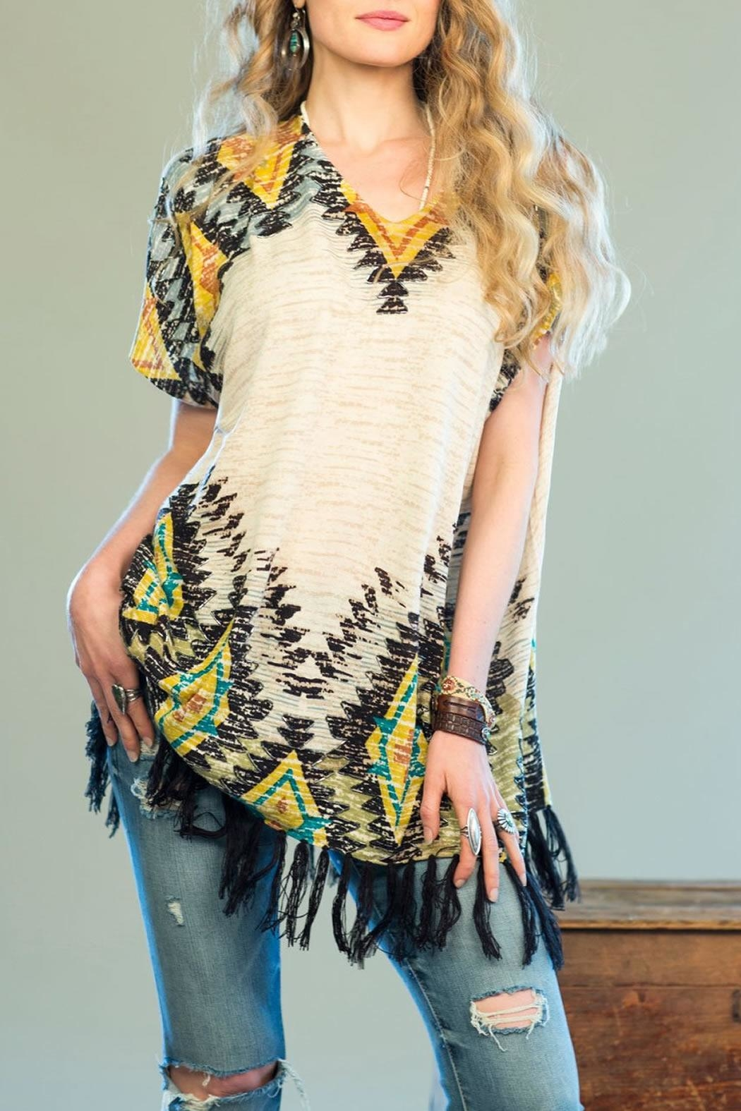 Double D Ranchwear Creedence Poncho - Main Image