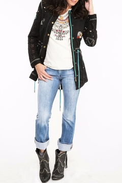 Double D Ranchwear Eyelet Tunic Jacket - Alternate List Image