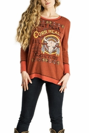 Double D Ranchwear First-Mesa Corn-Meal Top - Product Mini Image