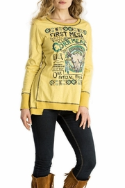 Double D Ranchwear First-Mesa Corn-Meal Top - Front cropped